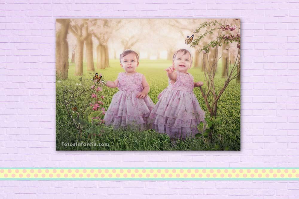 Decoração de Quarto Infantil com Painel Fotográfico
