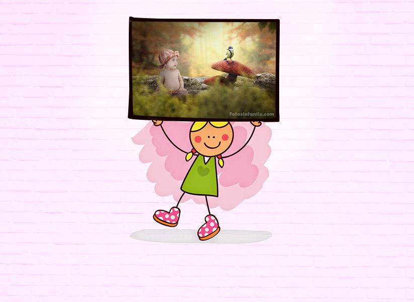 Decoração de Quarto Infantil com Fotografia